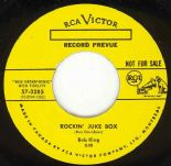 "45Re ✦ BOB KING ✦ ""Rockin' Juke Box / Party Hop"" 1958 Fast Twin Spin Jiver ♫"